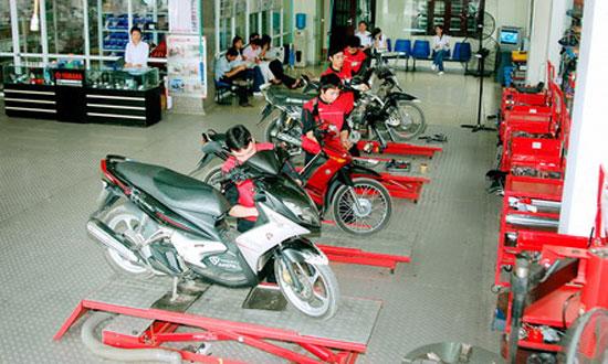 Nghề sửa chữa xe máy có cần nhân lực?