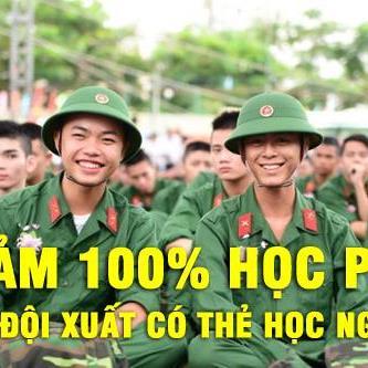 Bộ đội xuất ngũ được giảm 100% học phí