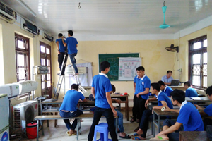 Hướng nghiệp nghề sửa chữa điện lạnh