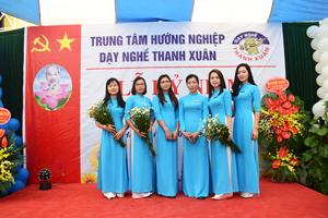 Những hình ảnh đẹp nhất các cô giáo Trường dạy nghề Thanh Xuân