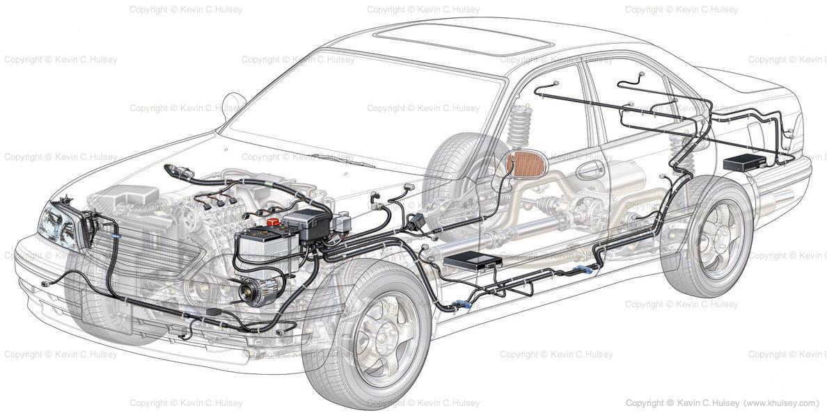 Tìm hiểu về hệ thống điện trên xe ô tô