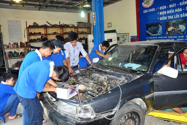 Học ô tô như thế nào để giỏi nghề
